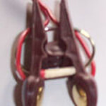 ESTIM Elektrosex Zweipolige Kontaktklammer