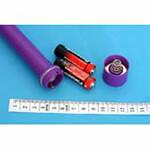 Batterienfach G-Punkt-Vibrator Purple Rain