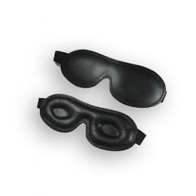 Leder Augenmaske gepolstert KOMFORT