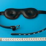 Innenansicht der Toxyd Leder Augenmaske - gepolstert KOMFORT